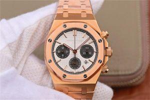 JH 26331 최고 품질 MONTRE DE 럭스 7750 자동 이동은 41mm 남성용 시계 40시간 파워 리저브 철강 손목 시계 케이스의 손목 시계 시계