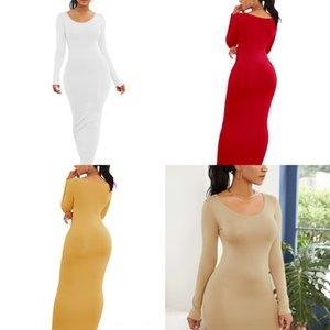 DidOG Sıcak satan kadın seksi moda Yelek Elbise uzun kollu etek yelek etek elbise kişiselleştirilmiş