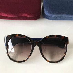 0035 Popular Sunglasses Luxury Women Brand Designer 0035S Oval Summer Style Full Frame Top Quality UV Protection Mixed Color Come With Box