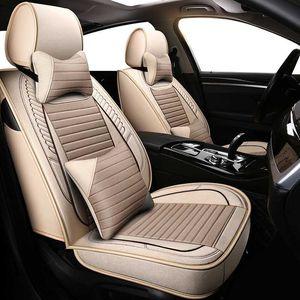 ZHOUSHENGLEE Universal Car seat covers For Isuzu all models D-MAX mu-X 5 seats auto accessories car styling auto cushion