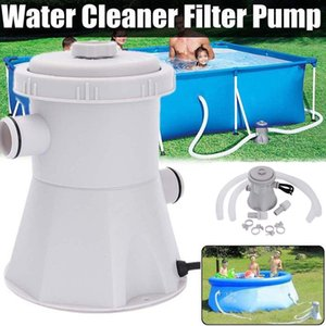 220V Electric Swimming Pool Filter Pump For Above Ground Pools Cleaning Tool Deals