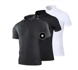 Golf Wear High Quality Business Golf Shirt Men's POLO shirt T-shirt Sportswear Top Golf Shirt Feather Jersey Fitness Wear