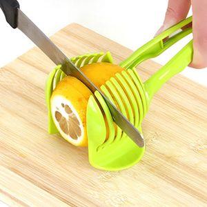 Handheld kitchenware tomato slicer bread clip fruit and vegetable cut potato apple creative gadget kitchen accessories C0927