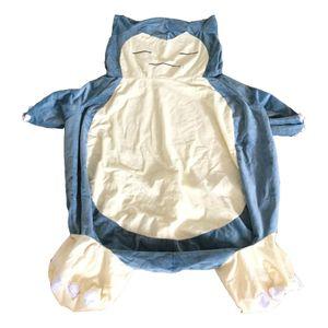 almohada 30-200cm Gran animado suave Snorlax de peluche de juguete con sólo cubierta de la cremallera sin relleno niños regalo para Navidad