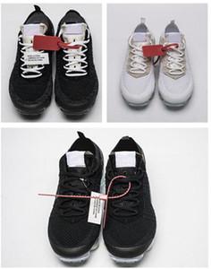 مع مربع 2.0 رجل أحذية نسائية قبالة ويست VPM مصمم الترفيه أحذية أبيض أسود عارضة تنفس الفاخرة عارضة الأحذية الولايات المتحدة 5.5-11