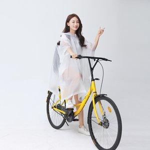 bicicleta eléctrica espesa capa poncho impermeable al aire libre del alpinismo de bicicletas para adultos portátil impermeable con mochila capa poncho