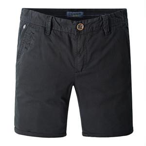 Herrenhose Klassische Kleidung für Männer gewaschene Baumwolle Fit Atmungsaktive Shorts Drucken Sommer Männlichen Casual Markenkleidung Strand