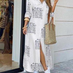 akr8C 3rgho Hot seksi yeni bahar Satış Uzun etek gömlek sonbahar moda ve gömlek uzun elbise elbise