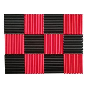 Promotion! 12 Pcs Acoustic Panels Soundproofing Foam Acoustic Tiles Studio Foam Sound Wedges 1inch X 12 inch X inch