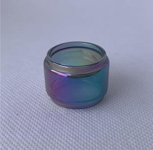 Substituição bolha Fatboy do arco-íris Para Aspiire Quad-Flex RDTA Vaporesso Skrr-S Céu Solo Plus 8 ml 3,5 ml Kit tanque de vidro Tubo Convexo Extensão