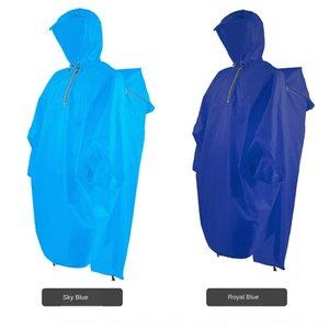 Tulum Cloak Vücut sırt çantası kapak ile kamp dağcılık panço yürüyüş yağmurluk panço açık vücut giysilerini giysi