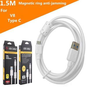 OLESiT Type C Micro USB avec transmission blindage annulaire magnétique de données anti-brouillage plus rapide et plus stable avec le paquet de détail