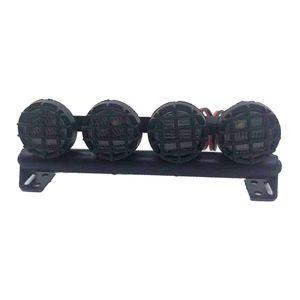 LED Işık Farlar Spotlight Kiti Aksesuarlar 1/10 TRX-4 SCX10 90046 90047 D90 D110 RC Tarayıcı İçin sığacak