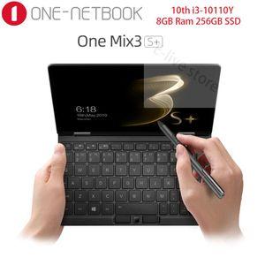 One-NetBook One Mix 3S + 8,4 Zoll Pocket PC Intel i3-10110Y 8GB Ram 256GB SSD 2560 * 1600 FHD Win 10 Fingerabdrucksensor WiFi