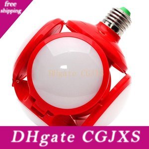 Led Football Light Garage Light 40W Футбол деформируемых водить Гаражи лампочка с 4 Регулируемыми панелями для гостиной Basement автотехобслуживания