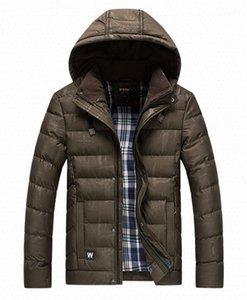 Maschi abiti scuri grano del progettista del Mens cotone imbottito giacche Moda Stripe Panelled Mens cotone imbottito cappotti casual
