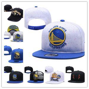 Golden State mens chapéu Curry Durant Basketball guerreiros Snapback Futebol Baseball Boné ajustável ordem da mistura Cap Sports Hat