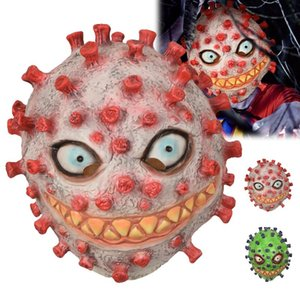 Хэллоуин маска головной убор Horror Бактерии маска Косплей партия украшения партия Реквизит Хэллоуин игрушек одеваются Принадлежит