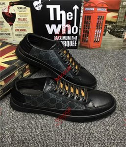 cucci Tasche 2020 as chaud nouveau cuir vêtements pour hommes haut de sport cravate de qualité mode casual chaussures Leathe Le modèle blanc chaussures de sport Livraison gratuite