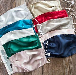 Роскошный дизайнер Summer New Anti-ультрафиолетовое двухслойный Dust Proof Шелковая маска Открытый Solid Mask Color Thin высокого качества