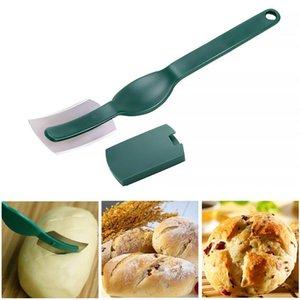 Couteau à pain courbé style occidental Baguette coupe française Toas Cutter Bagel cuisson Outils Bakers Maker cuisine Couteau de cuisine