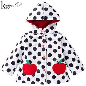 KEAIYOUHUO Jackets For Girls Fashion Hooded Children Windbreaker Girls Jacket Coats Kids Clothing Long Sleeve Toddler Outerwear