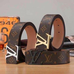 Роскошные Ремни дизайнерские ремни для мужчин Большой пряжки ремня Мужской пояса целомудрия Топ Mens Мода кожаный пояс 12LVLOUISVUITTON..