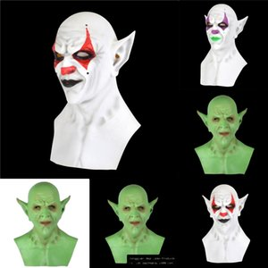 BTZiW Stephen Kings ItCosplay Pennywise Clown Joker-Maske Tim Curry Maske Maske Cosplay Partei Props Latex Halloween