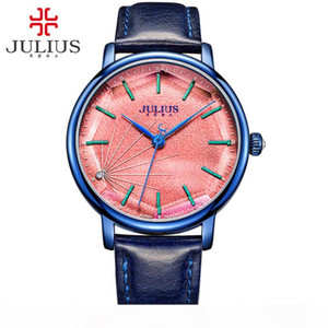 JULIUS JA-888 Women's Stylish Spider-wed Textural Quartz Watch Female Fashion Casual Wristwatch Vintage Clock Gold Design Montre