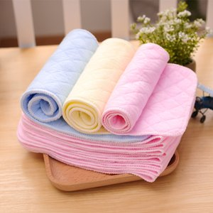 Color, soft, breathable, washable, ecologically pure cotton for infants and young children, go out diaper pad, 3-layer baby diaper, diaper