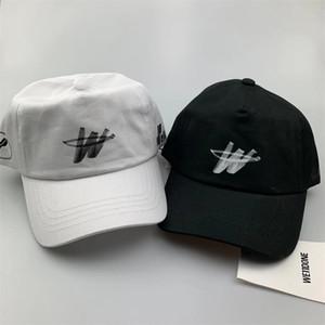 Gorra de béisbol del sombrero del snapback papá We11done diseñador de bola del casquillo del camionero de las mujeres de los hombres de Hip Hop Harajuku monopatín Golf informal al aire libre ajustable Visera