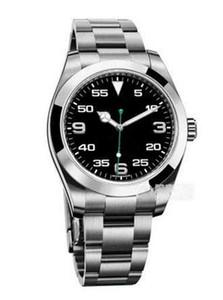 Nouveau Meilleures ventes de haute qualité pour hommes d'affaires de montre automatique en acier inoxydable SAPPHIRE Date imperméable montres-bracelets meilleur cadeau d'anniversaire