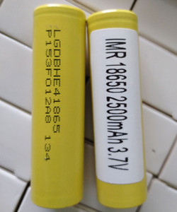 1000pcs Top Quality INR 18650 HE4 lg Batteries 2500mAh vapes Flat Top Vape Lithium 18650 Battery for Samsung Box Mods PK 25R 30Q VTC6