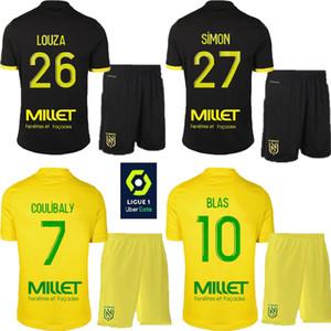 enfants adultes 2020 2021 FC Nantes garçon Maillots de football 20 21 FC Nantes maison jaune hommes Sala Coulibaly Waris Rongier Boschilia Football kit Shirt