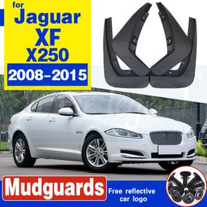 Voiture Bavette pour Jaguar XF X250 2008 ~ 2015 Fender Garde boue Flap Splash Rabats Garde-boue Accessoires 2009 2010 2011 2012 2013 2014