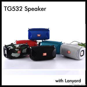 Новые TG532 Bluetooth Speaker Mini Wireless Портативный Музыка Аудио плеер с талреп ремешок 500mAh Липо Малый сабвуфер