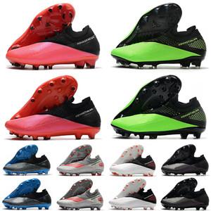 Phantom Vision VSN II Elite FG DF AG PRO 2 2S hypervenom Future ADN Mens haute cheville Chaussures de football Crampons de football Taille US6.5-11