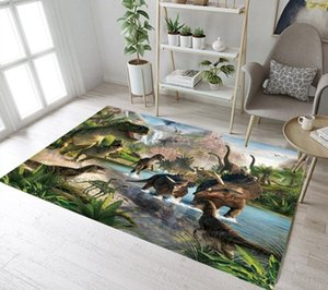 Kids Dinosaur Rugs And Forest Carpets For Baby Home Living Room Large Bedroom Hallway Yoga kitchen Door Floor Bath Mat