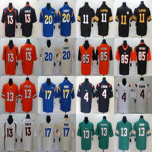 KJ 13 개 Hamler 뉴저지 (85) 티 히긴스 (20) 잘렌 램지 (17 개) 로버트 우즈 (13 개) 댄 마리노 (11 개) 체이스 Claypool 유니폼