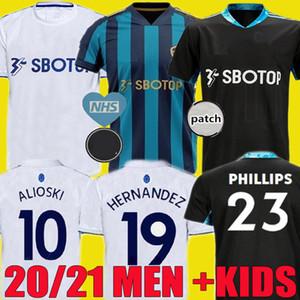 20 21 BAMFORD Leeds United camiseta de fútbol T Roberts 2020 2021 Harrison COSTA Alioski Klich Hernández camisetas de uniforme kit Men + niños