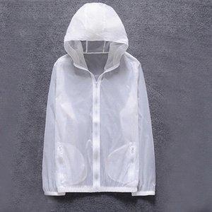 Litthing Homens New Verão Anti UV pele Jacket Outdoor Quick Dry Sun Protective revestimento encapuçado Ciclismo Viagem Windbreaker 2019 VCrv #