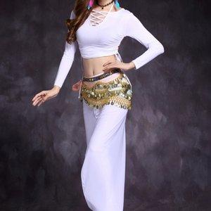 xI8YB M3Wwc Huayu danza del ventre danza pratica dello yoga Nuova Lanterna pantaloni su misura abiti lanterna abbigliamento pantaloni pratica e il 2019 autunno tuta w