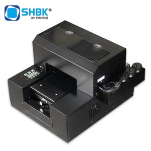 SHBK Automatic A4 UV printer machine for phone case TPU plastic pen leather wood glass PVC card acrylic board