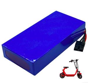 Бесплатная доставка Высокое качество Замена электрической батареи скутера 60V 20AH литий 1200w аккумуляторная батарея с зарядным устройством 67.2v