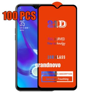 21D Full Glue Tempered Glass Curved Guard Premium Full Coverage Screen Protector Film For Samsung Galaxy A10 A20 A30 A40 A50 A60 A70 A80 A90