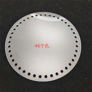 Mi Yi DIY mano tejida accesorios de bricolaje materiales accesorios de hardware del bolso transparentes placa de acrílico redondo
