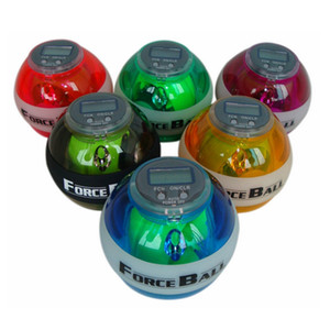 اللياقة البدنية اللياقة البدنية كرات الشامل التخسيس الجيروسكوب قوة الكرة LED قوة المعصم الكرة قوة مع قبضة السلطة