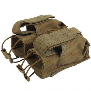 Nylon MOLLE sac tactique bagfan double stockage de gant multi-fonctionnel Kit de charge Gants Fan et gants