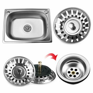 Bathroom Kitchen Stainless Steel Sink Strainer Waste Disposer Plug Drain Stopper Filter Durable Kitchen Tool Banheiro Home