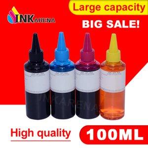 Canon Mürekkep Püskürtmeli Yazıcı Brother Kiti 100ML Şişe mürekkep için INKARENA 4 Renk Boya Dolum Mürekkep Değiştirme